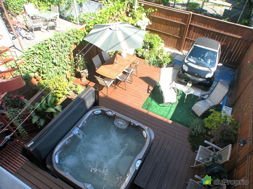 Duplex vendu montr al immobilier qu bec duproprio 275824 for Appartement avec piscine montreal
