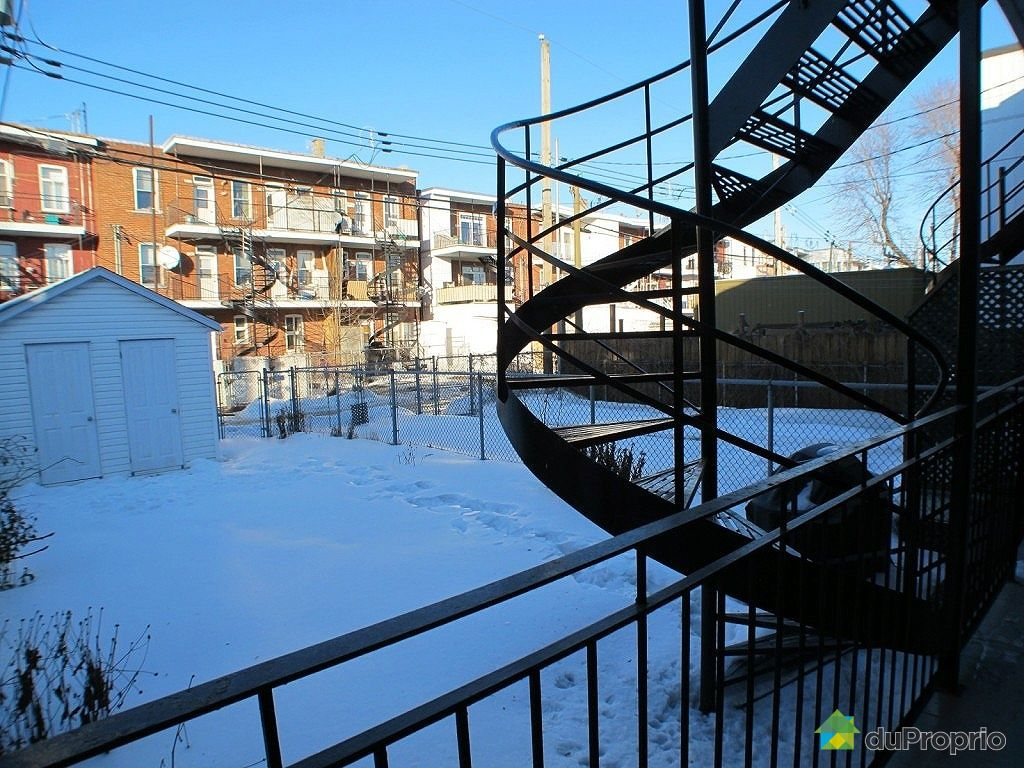 Duplex vendu montr al immobilier qu bec duproprio 309347 for Fenetre verdun montreal