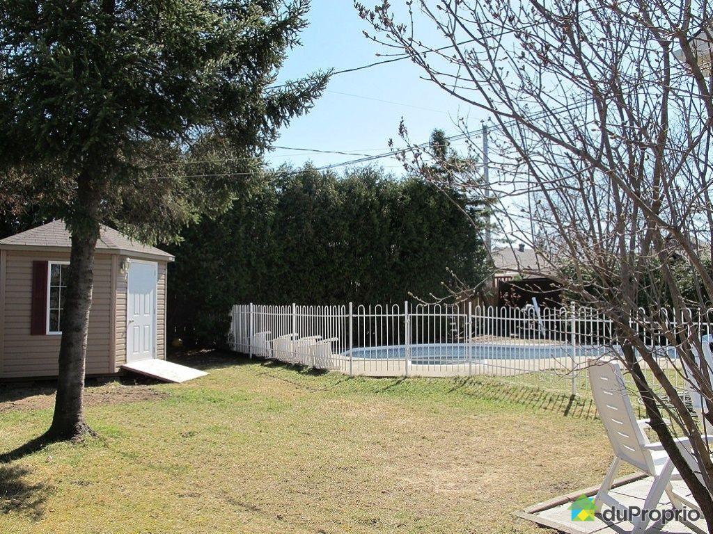 Maison vendu terrebonne immobilier qu bec duproprio for Balayeuse piscine creusee