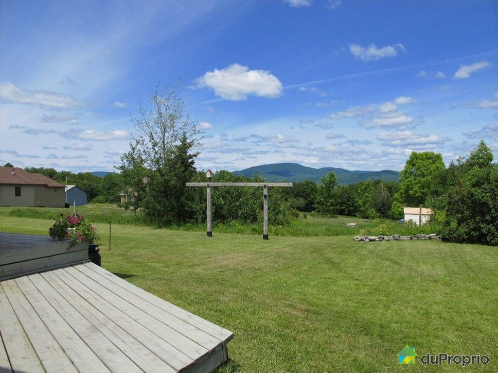 Maison vendu ile d 39 orl ans st fran ois immobilier qu bec duproprio 264844 - Maison jardin grande recre orleans ...
