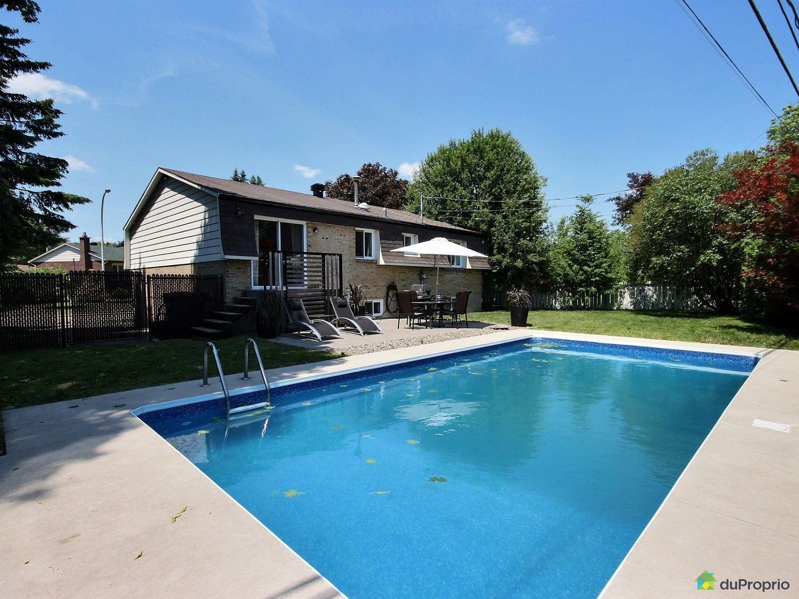 Maison vendre brossard 3995 rue brahms immobilier for Brossard piscine