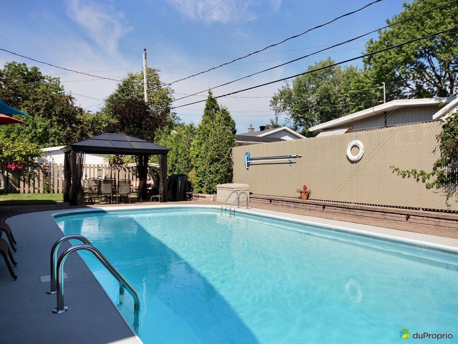 Maison vendre charlesbourg 1273 rue du maine for Arpidrome charlesbourg piscine