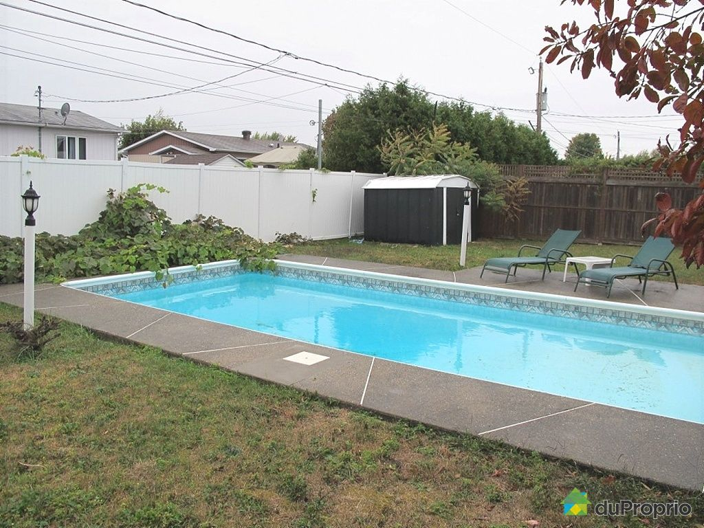 Maison vendu drummondville immobilier qu bec duproprio for Balayeuse piscine creusee