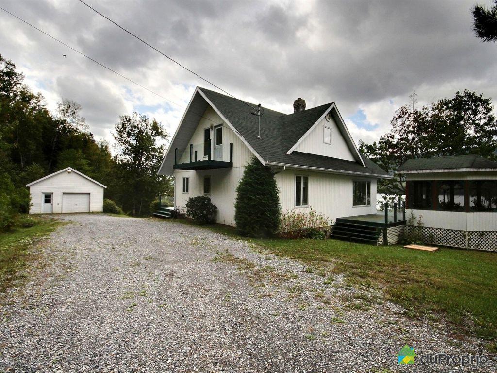 Maison a vendre a riviere bleue proprietes etangs a for Acheter une maison au canada quebec