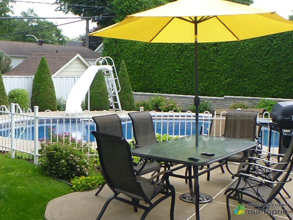 Maison vendre trois rivi res ouest 5345 rue de for Balayeuse piscine creusee