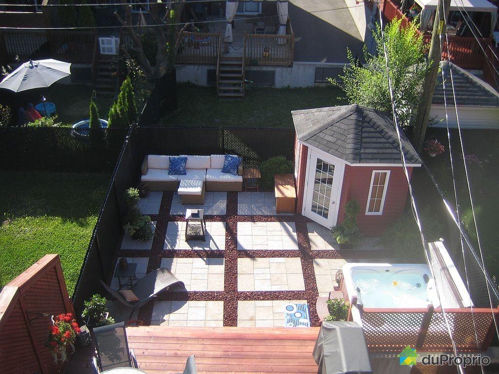 Maison vendu montr al immobilier qu bec duproprio 388975 for Piscine hochelaga