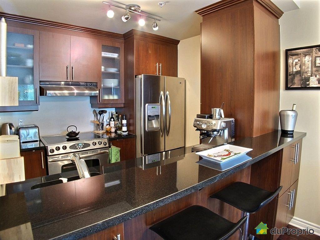 Condo vendu montr al immobilier qu bec duproprio 449395 for Cuisine ouverte tard montreal