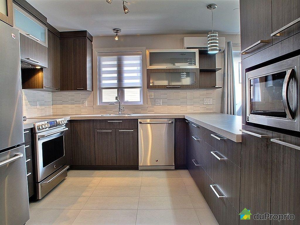 Val b lair vendre duproprio for Dosseret aluminium cuisine