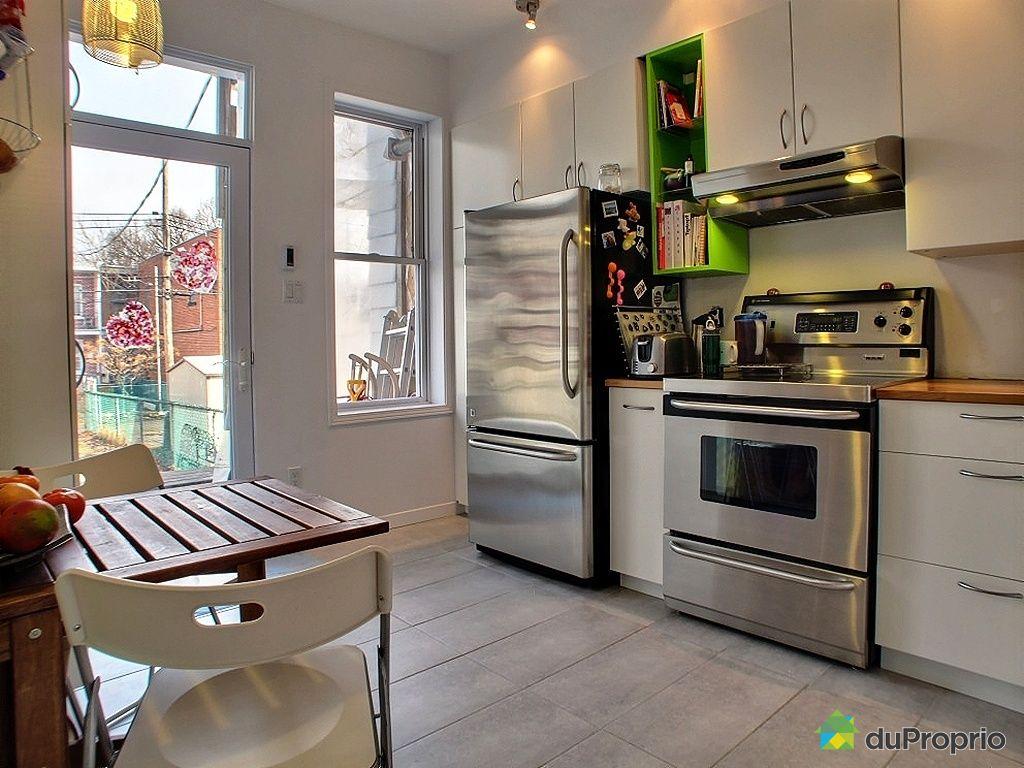 duplex vendu montr al immobilier qu bec duproprio 410044. Black Bedroom Furniture Sets. Home Design Ideas