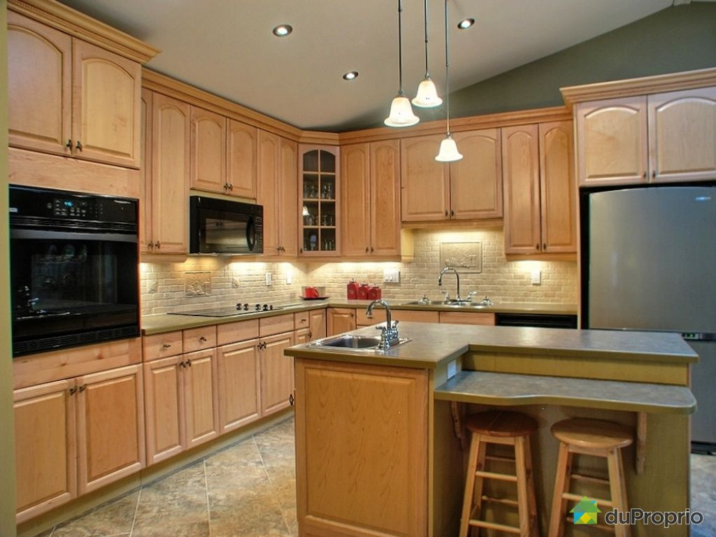 Jumel vendu aylmer immobilier qu bec duproprio 273545 for Plafond de cuisine en bois
