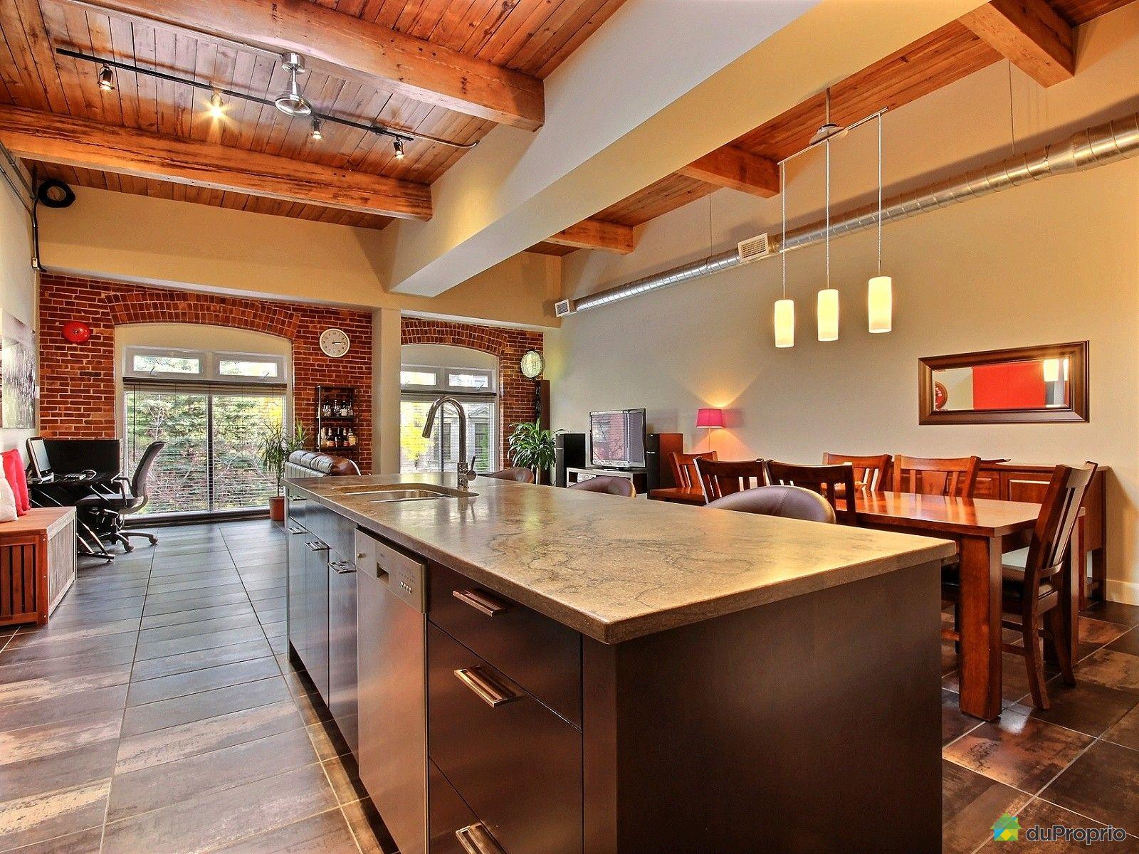 Loft vendu montr al immobilier qu bec duproprio 662003 for Cuisine ouverte tard montreal