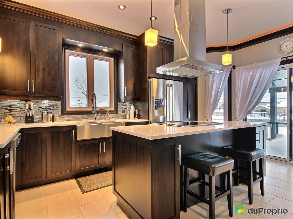 Maison vendre gatineau 73 rue de roberval immobilier for Rideau pour porte patio cuisine