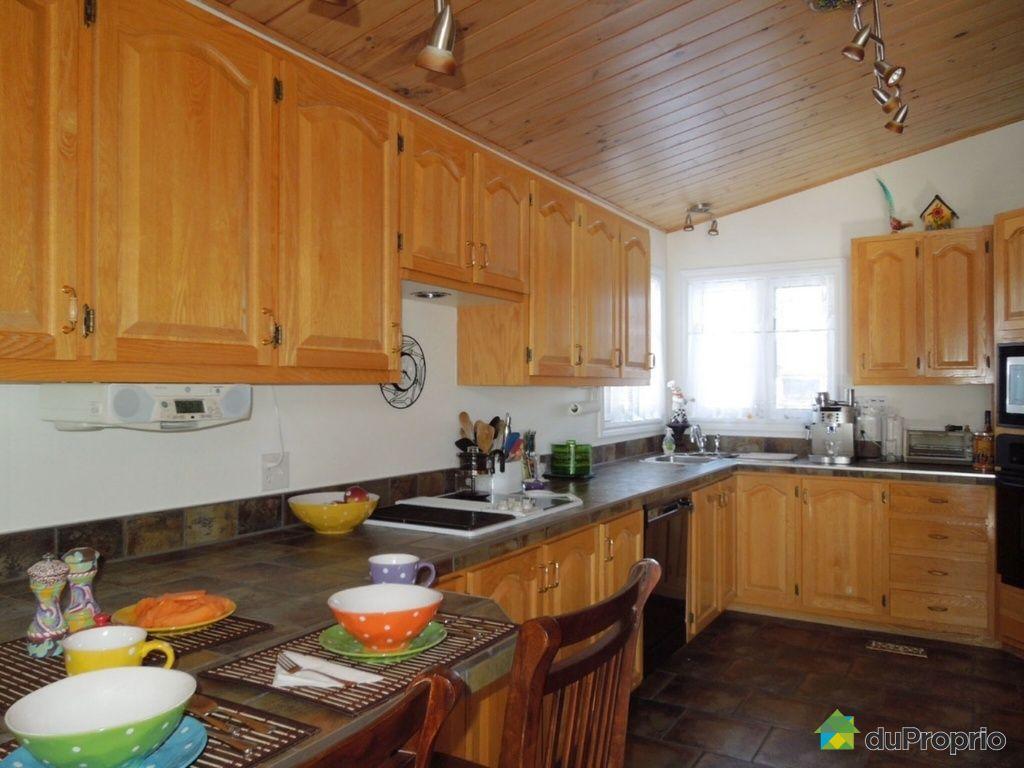 Maison vendu havre st pierre immobilier qu bec - Cuisine maison pierre ...
