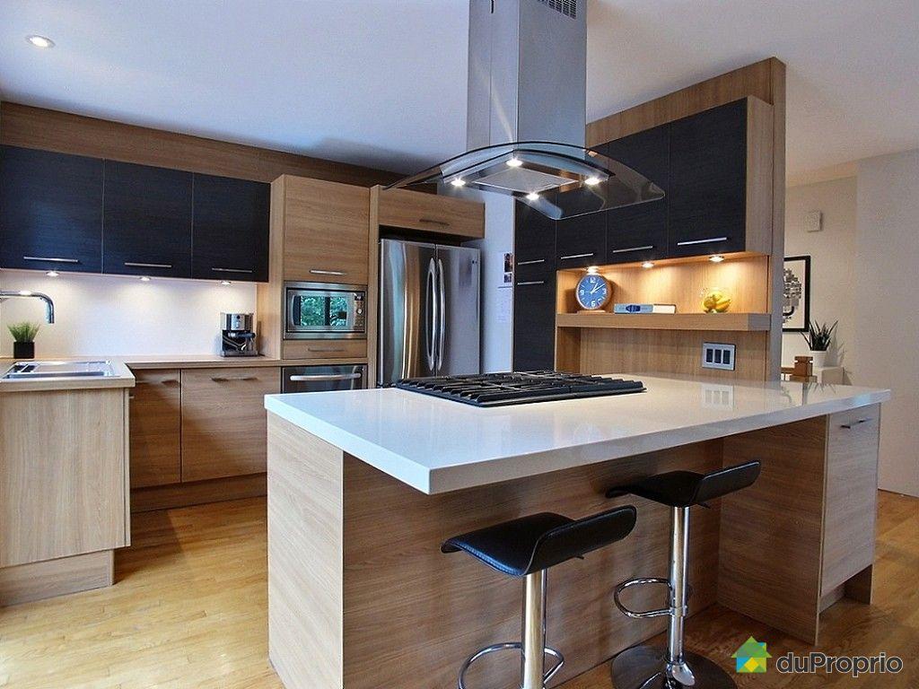 Maison vendu longueuil immobilier qu bec duproprio 557976 for Cuisine ouverte chaleureuse