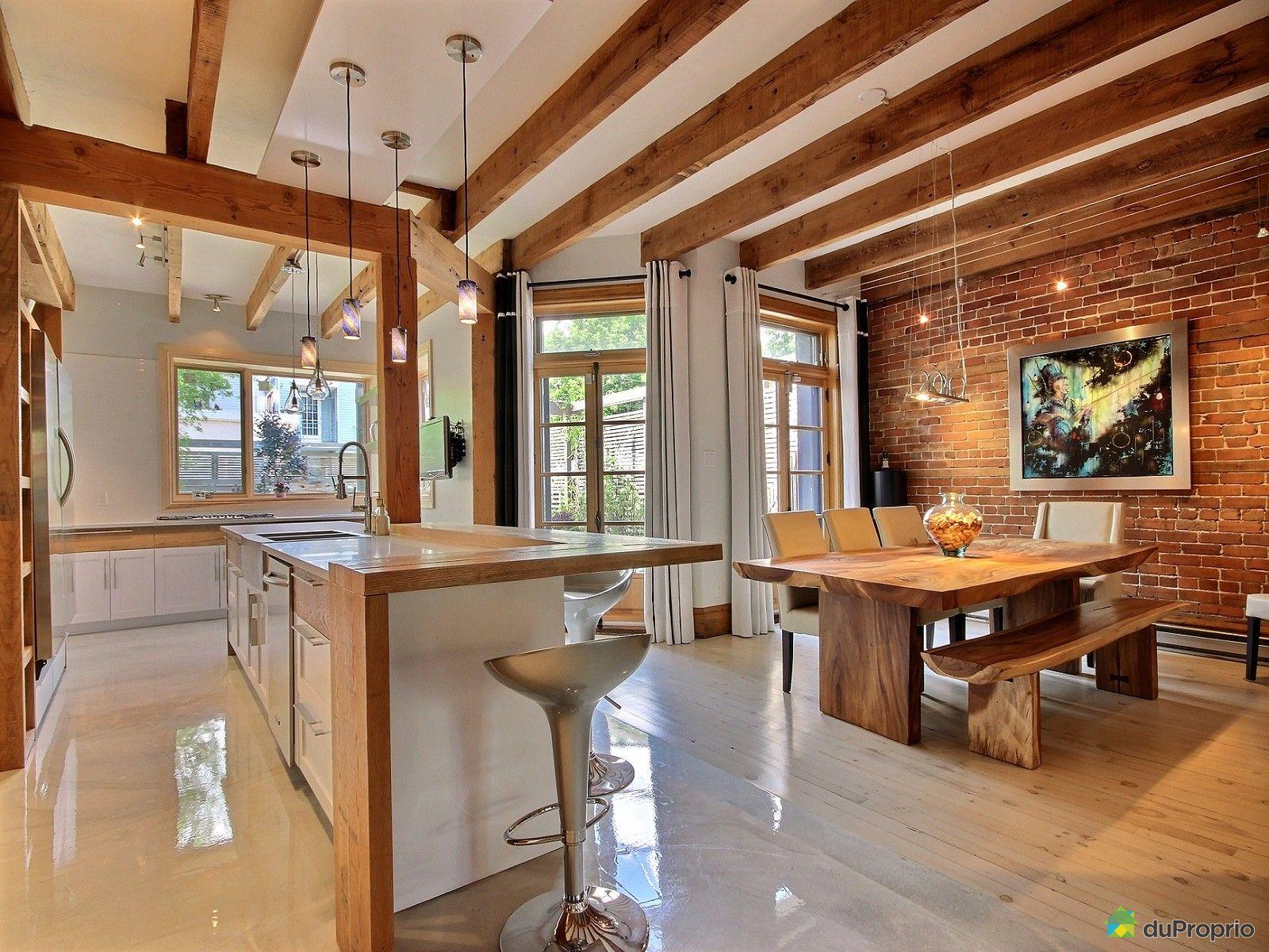 Maison vendu montr al immobilier qu bec duproprio 620027 for Cuisine ouverte tard montreal