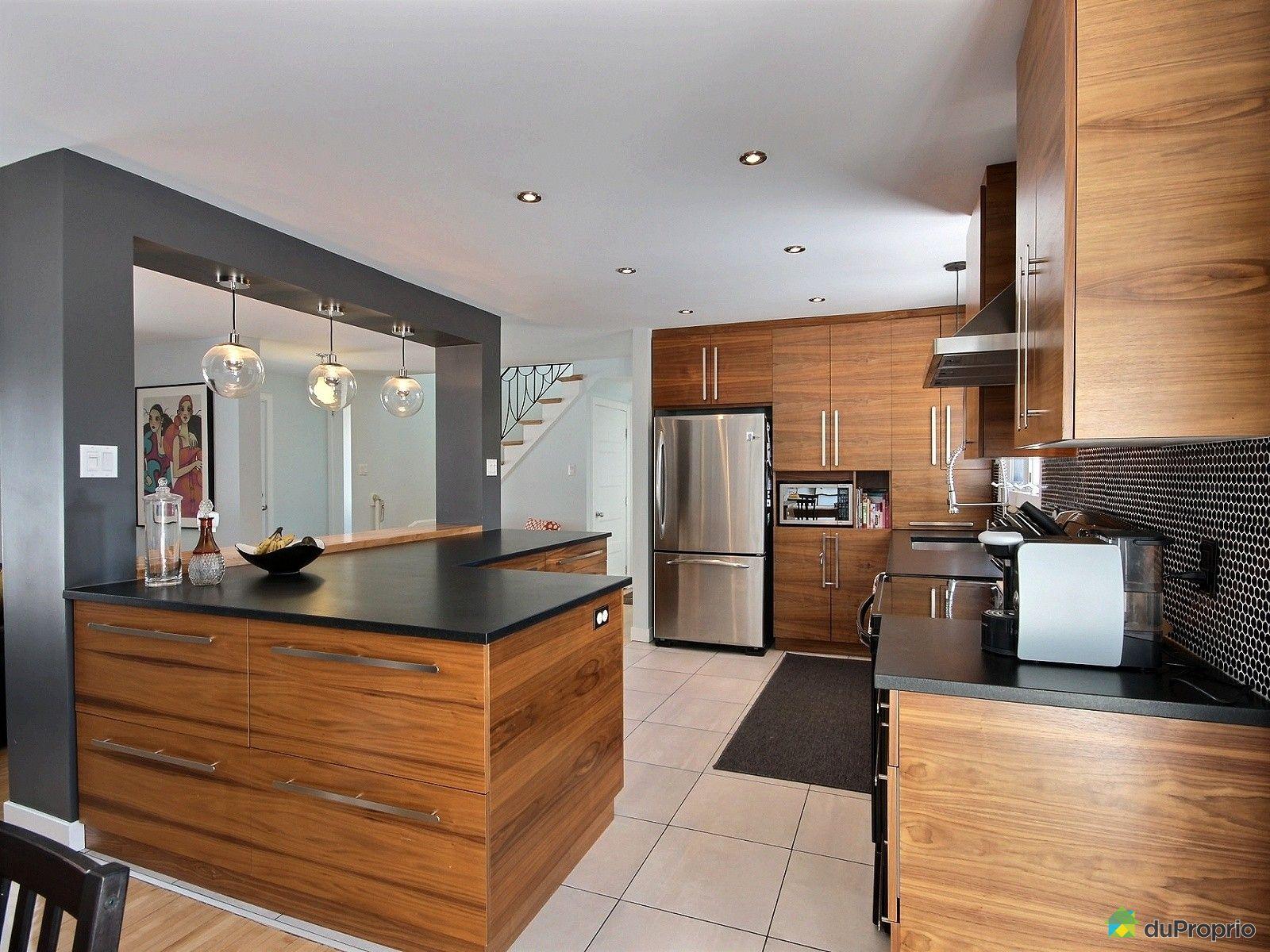 Maison vendu montr al immobilier qu bec duproprio 499478 - Cuisine maison pierre ...
