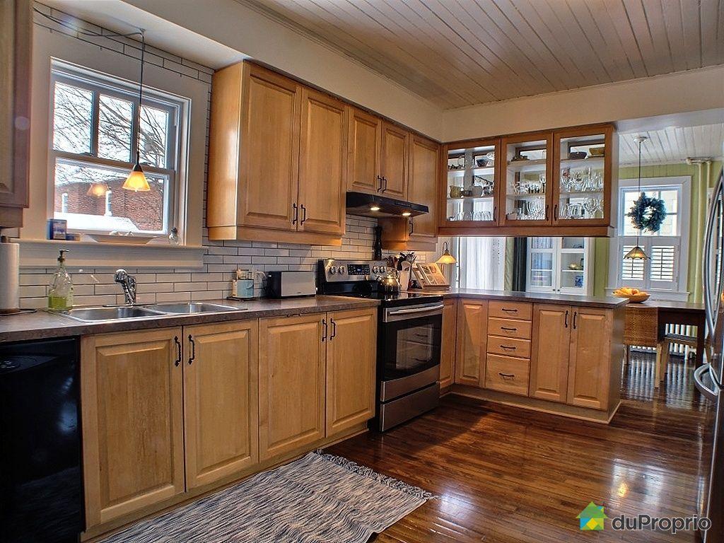 Maison vendu montr al immobilier qu bec duproprio 400522 for Ares cuisine pointe claire