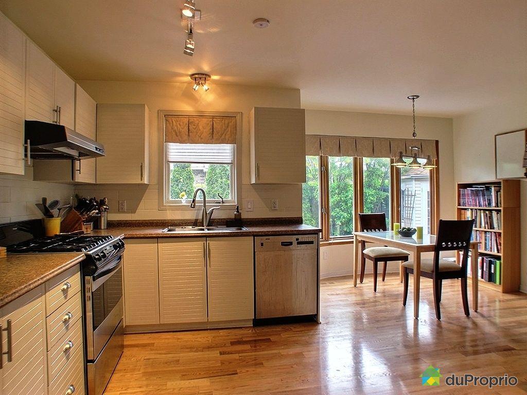 Maison vendu montr al immobilier qu bec duproprio 425534 for Ares cuisine pointe claire