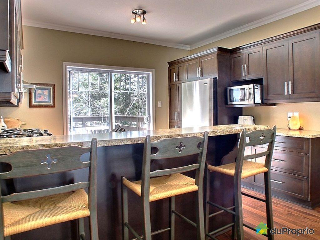 Maison vendu ste ad le immobilier qu bec duproprio 160010 for Rideau pour porte patio cuisine