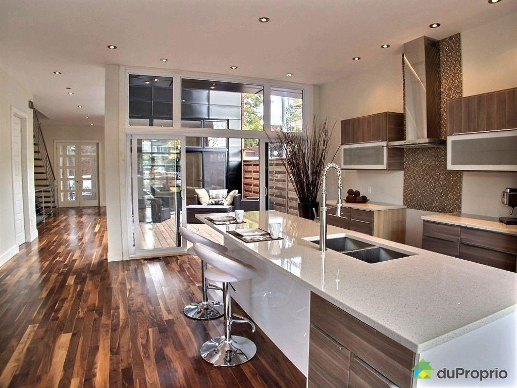 Maison vendu montr al immobilier qu bec duproprio 435141 - Agrandissement cuisine sur terrasse ...