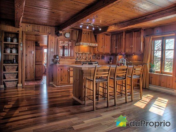 Maison vendu lac etchemin immobilier qu bec duproprio for Interieur de maison de campagne