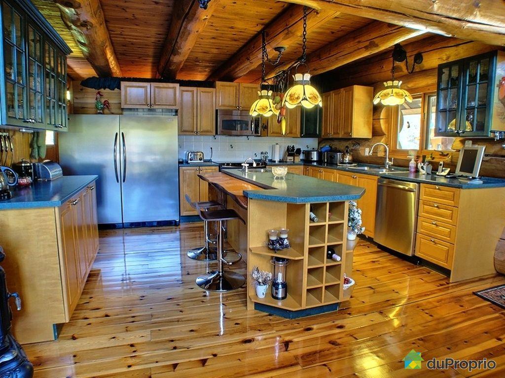 Maison de campagne a vendre outaouais - Cuisine maison de campagne ...