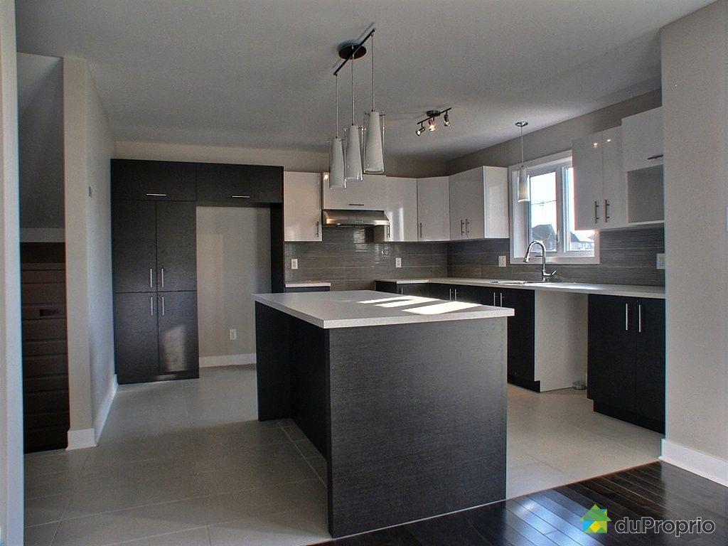 Maison neuve vendu mirabel immobilier qu bec duproprio 419364 for Cuisine neuve