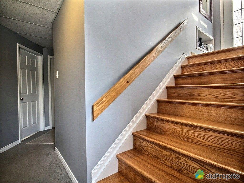 Maison vendu luskville immobilier qu bec duproprio 477053 for Decoration descente escalier sous sol