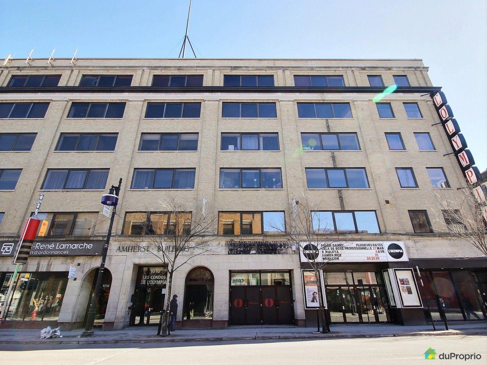 Condo vendu montr al immobilier qu bec duproprio 590746 for Piscine exterieur montreal
