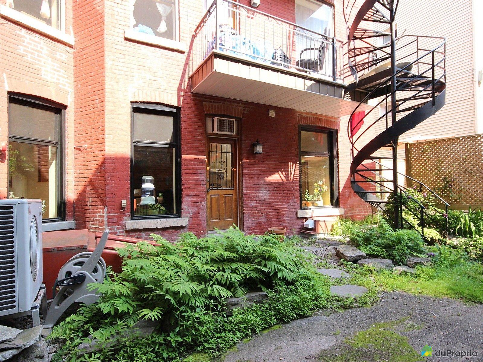 Condo vendu montr al immobilier qu bec duproprio 625871 for Piscine exterieur montreal