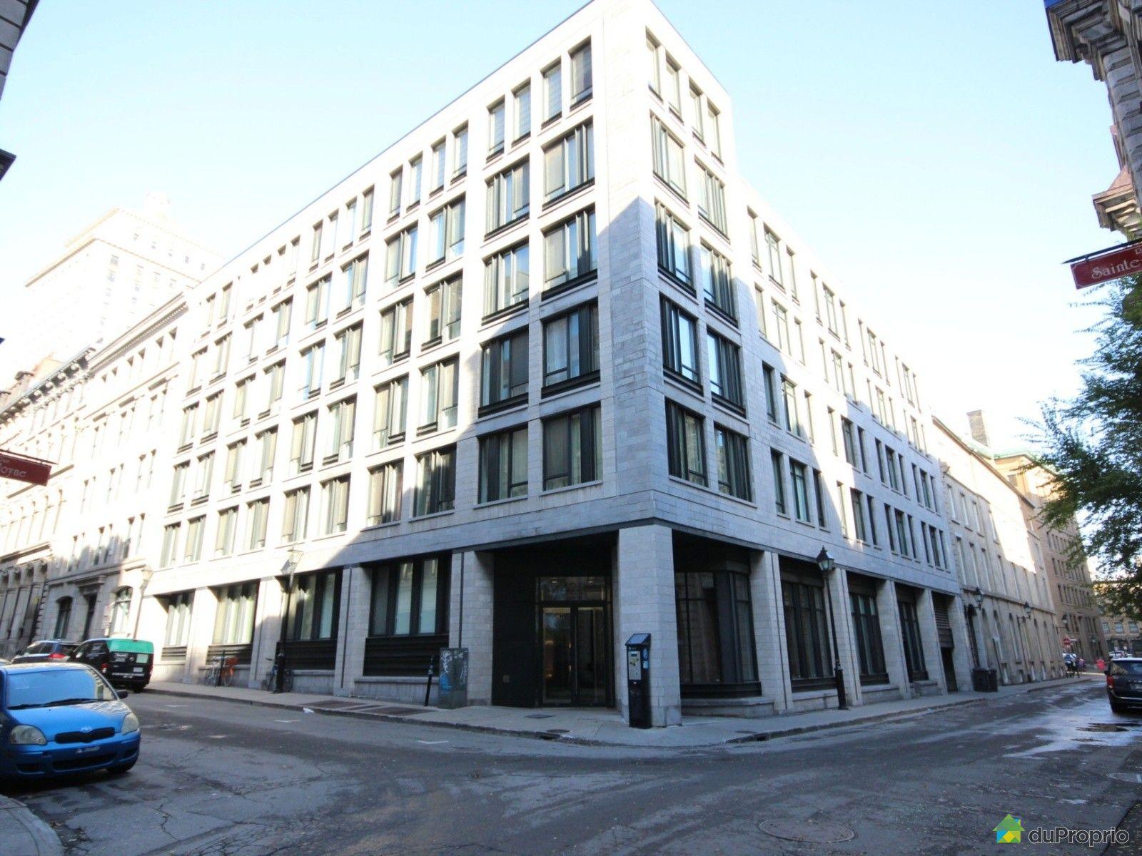 Condo vendu montr al immobilier qu bec duproprio 659757 for Piscine exterieur montreal