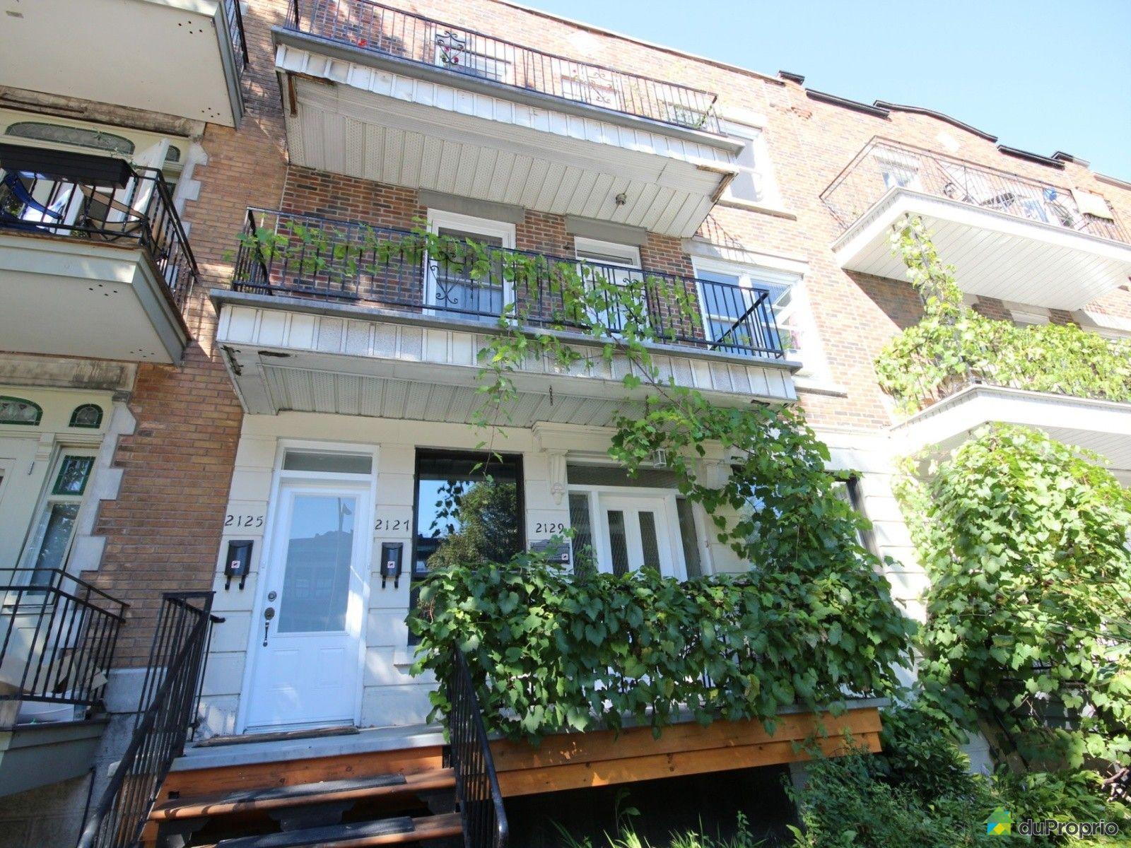Condo vendre montr al 2129 boulevard saint joseph est for Boulevard exterieur