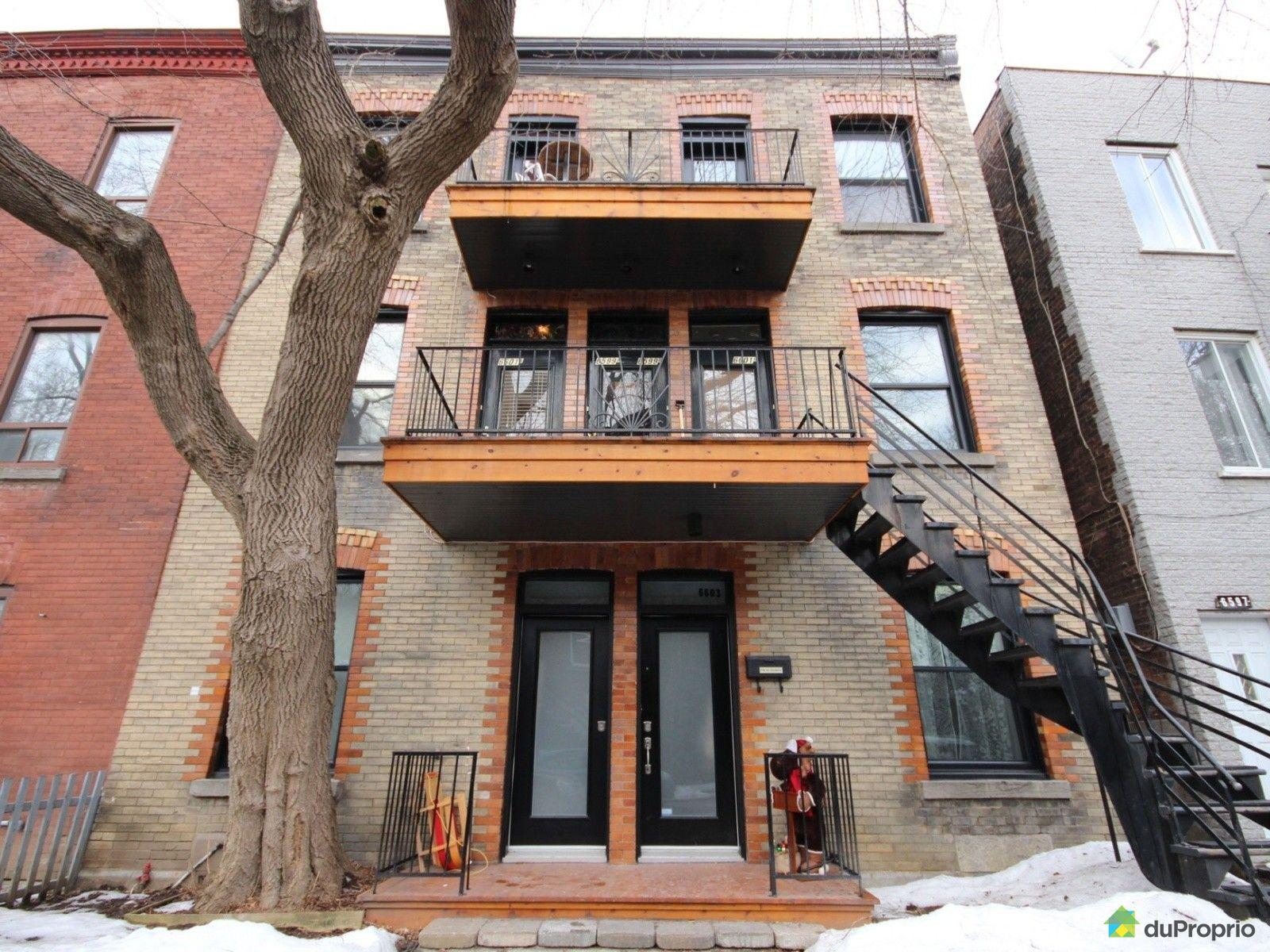 Condo vendu montr al immobilier qu bec duproprio 678373 for Patinoire exterieur montreal