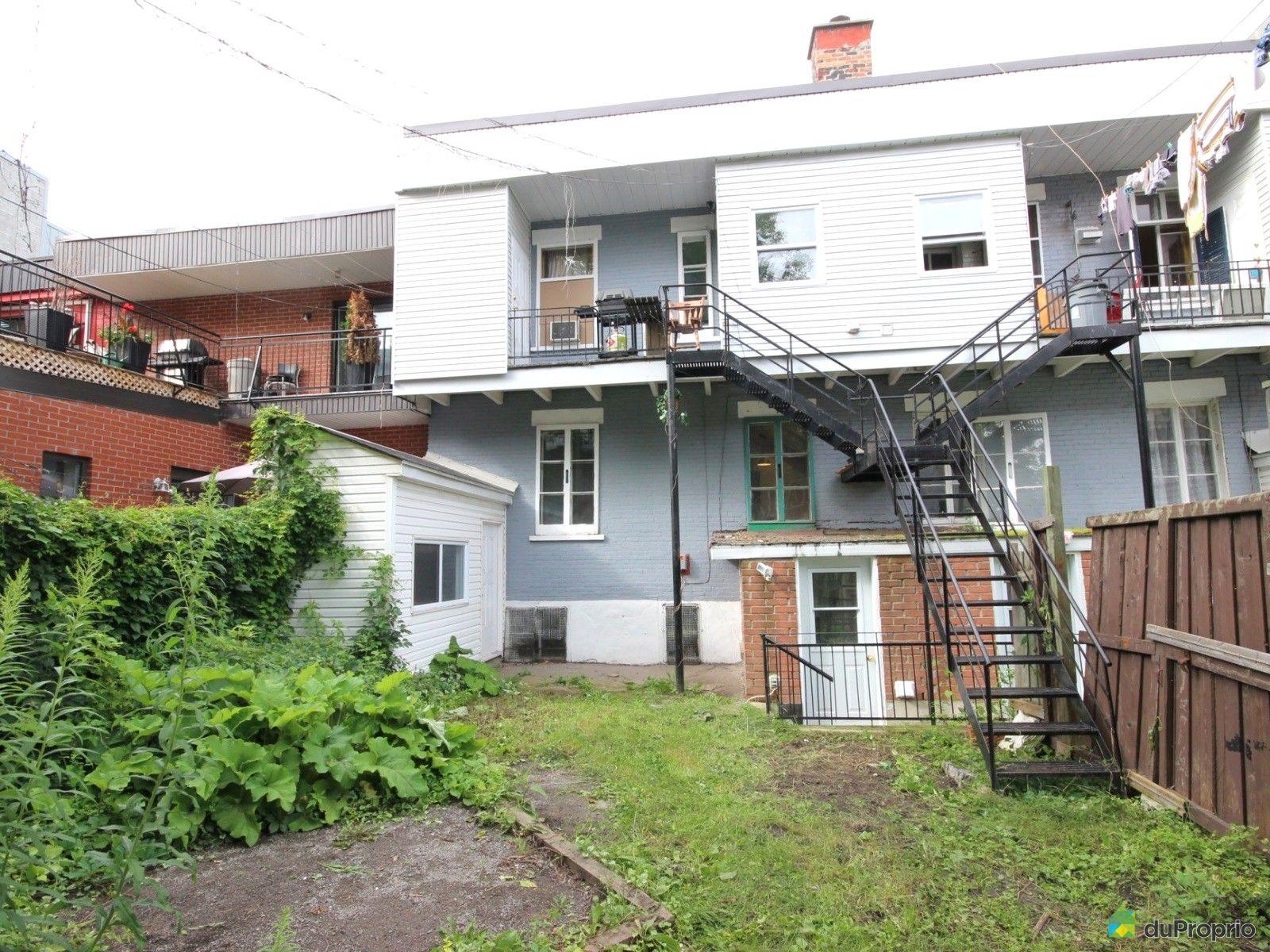Duplex vendre montr al 1609 1611 rue saint christophe for Cegep vieux montreal piscine