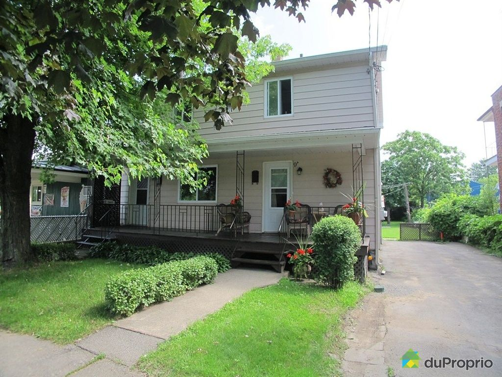 Duplex vendre salaberry de valleyfield 9 9a rue des for Achat maison quebec