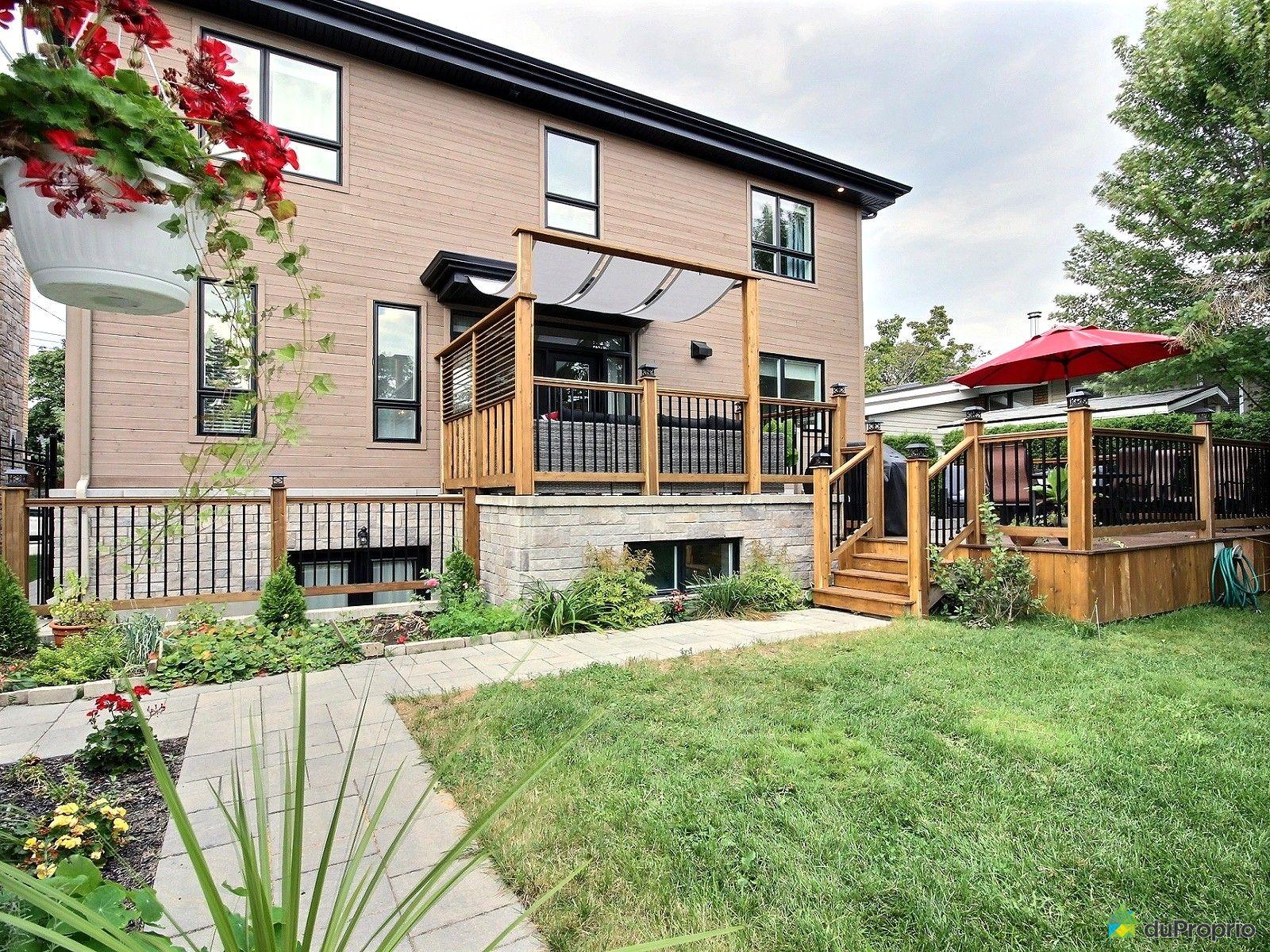 Maison vendu montr al immobilier qu bec duproprio 643641 for Piscine exterieur montreal