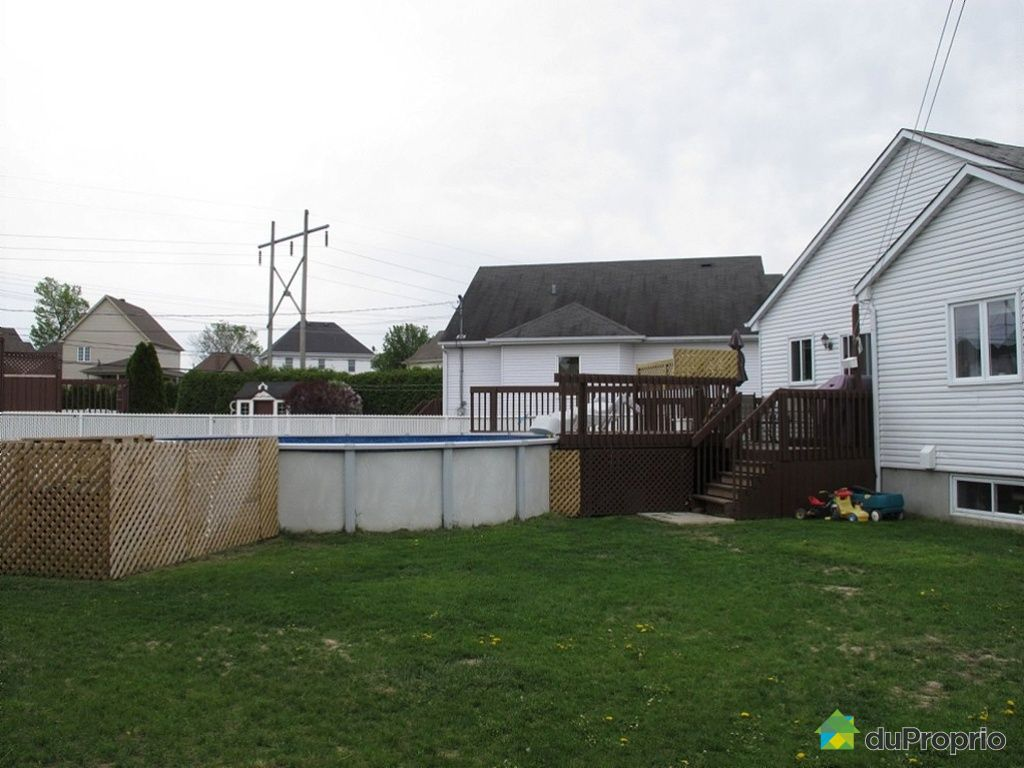 Maison vendu chambly 1308 rue toussaint trudeau immobilier qu bec duprop - Module exterieur a vendre ...