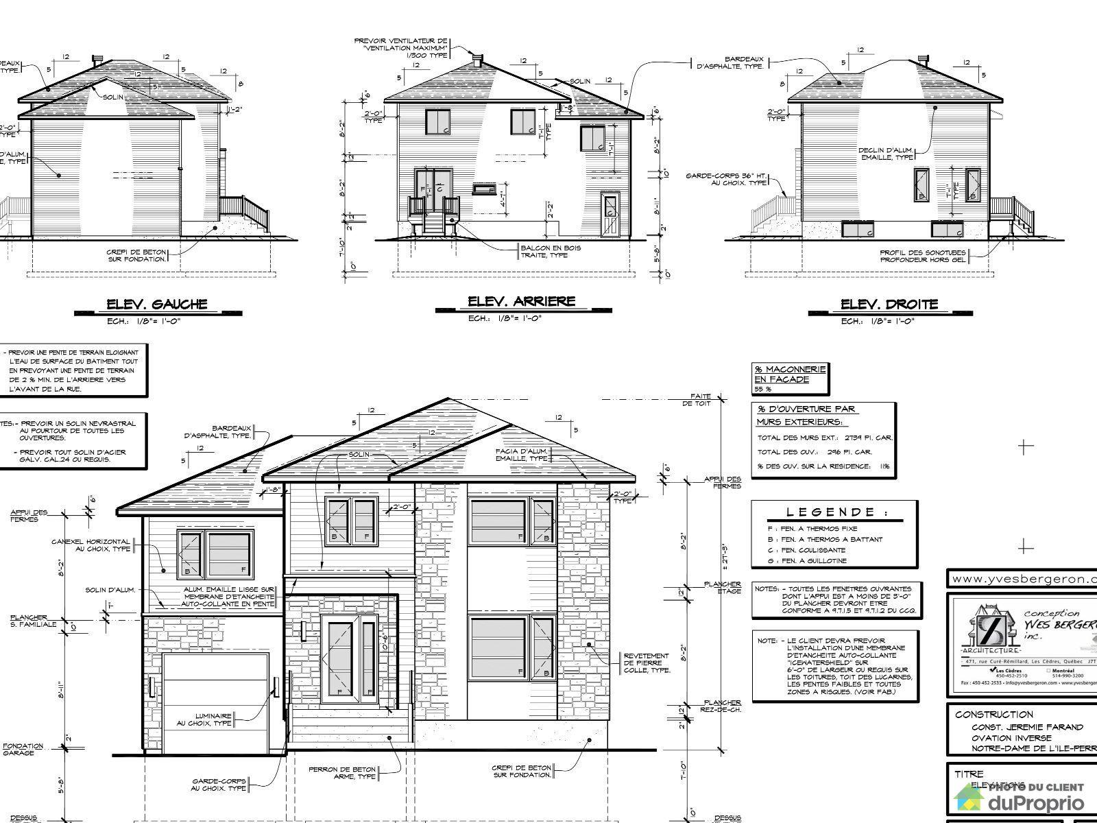 Cool plan exterieur maison with plan exterieur maison for Plan exterieur maison