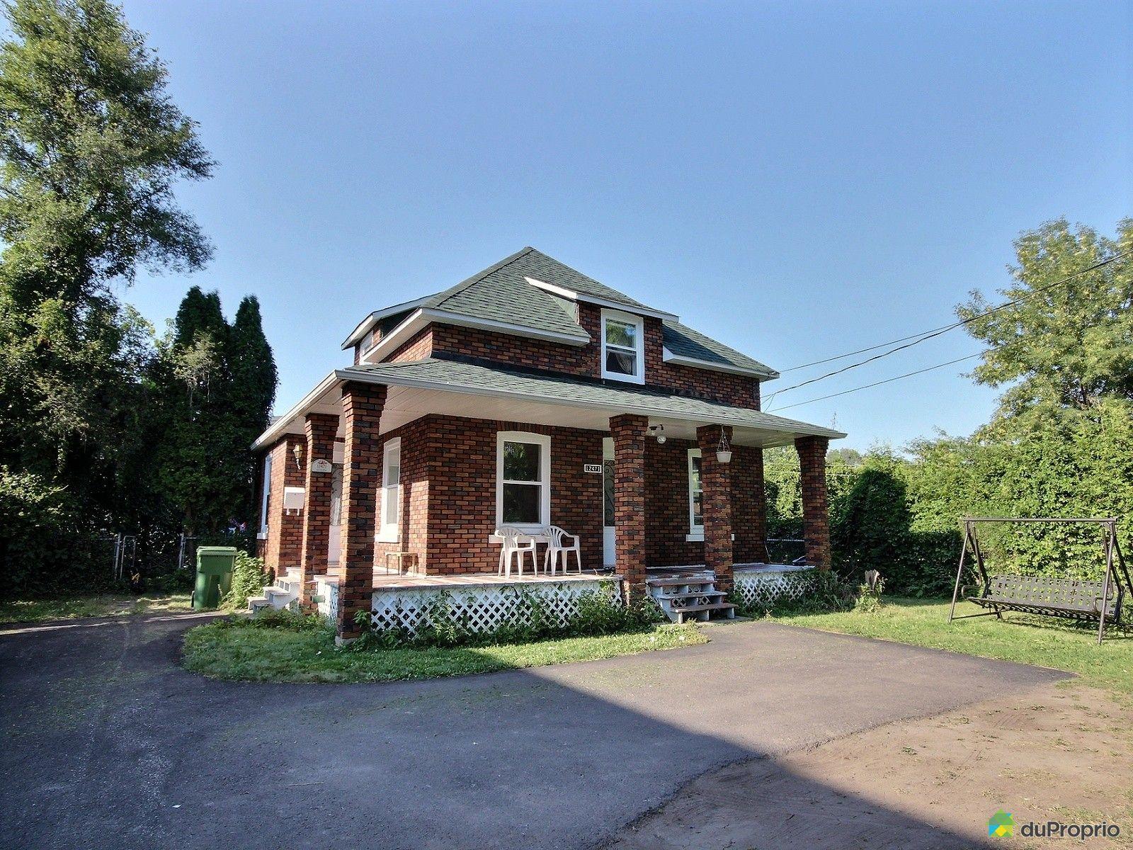 Maison vendre montr al 12471 boulevard gouin ouest for Boulevard exterieur