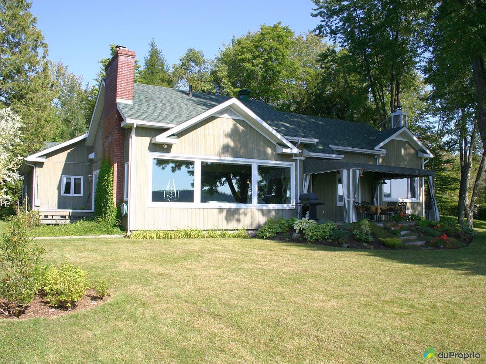 Maison vendu racine immobilier qu bec duproprio 486652 for Exterieur maison campagne