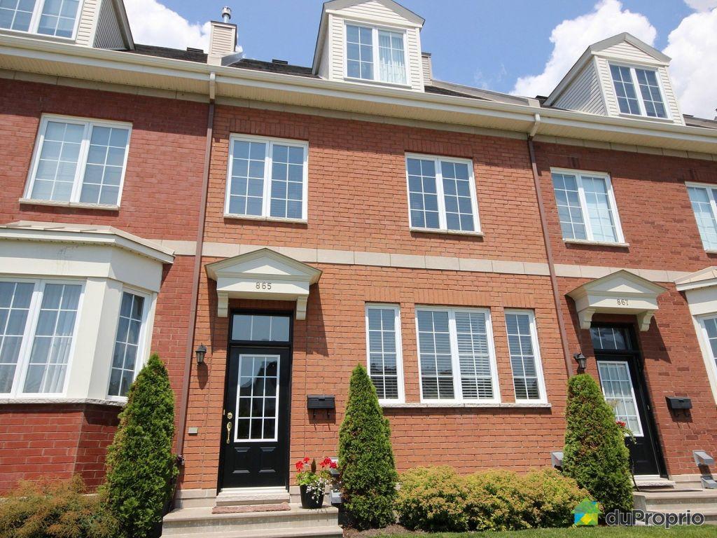 Maison vendu montr al immobilier qu bec duproprio 626730 for Achat maison quebec