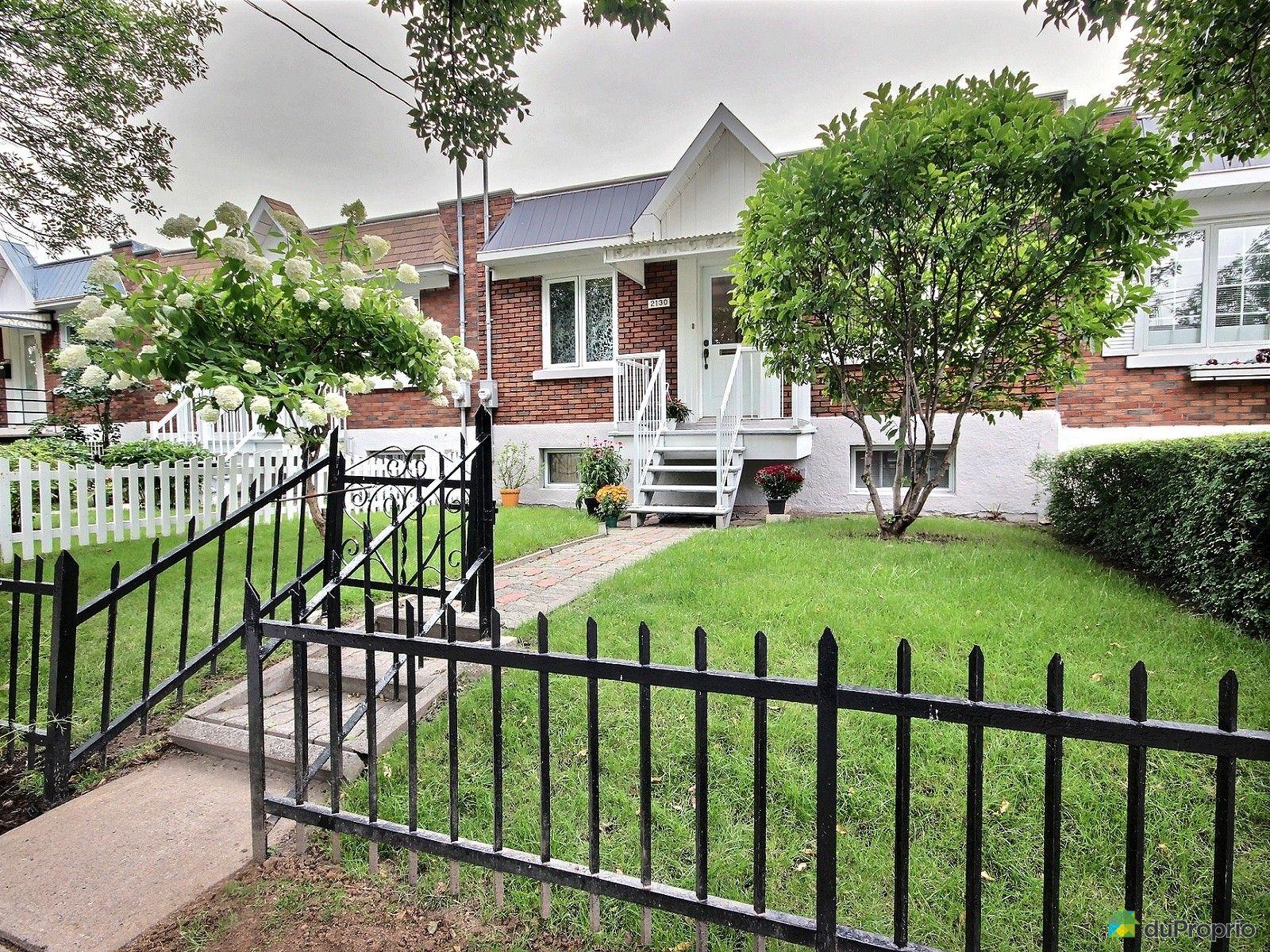 Maison vendu montr al immobilier qu bec duproprio 543850 for Piscine exterieur montreal