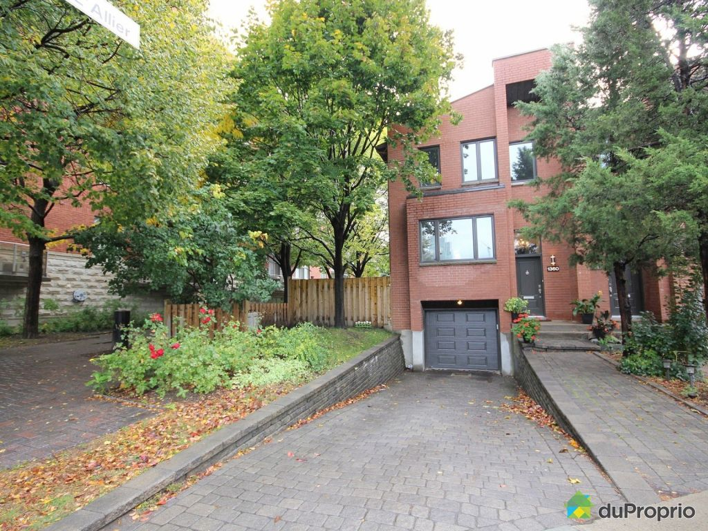 maison vendre montr al 1360 rue victor hugo immobilier qu bec duproprio 653214. Black Bedroom Furniture Sets. Home Design Ideas