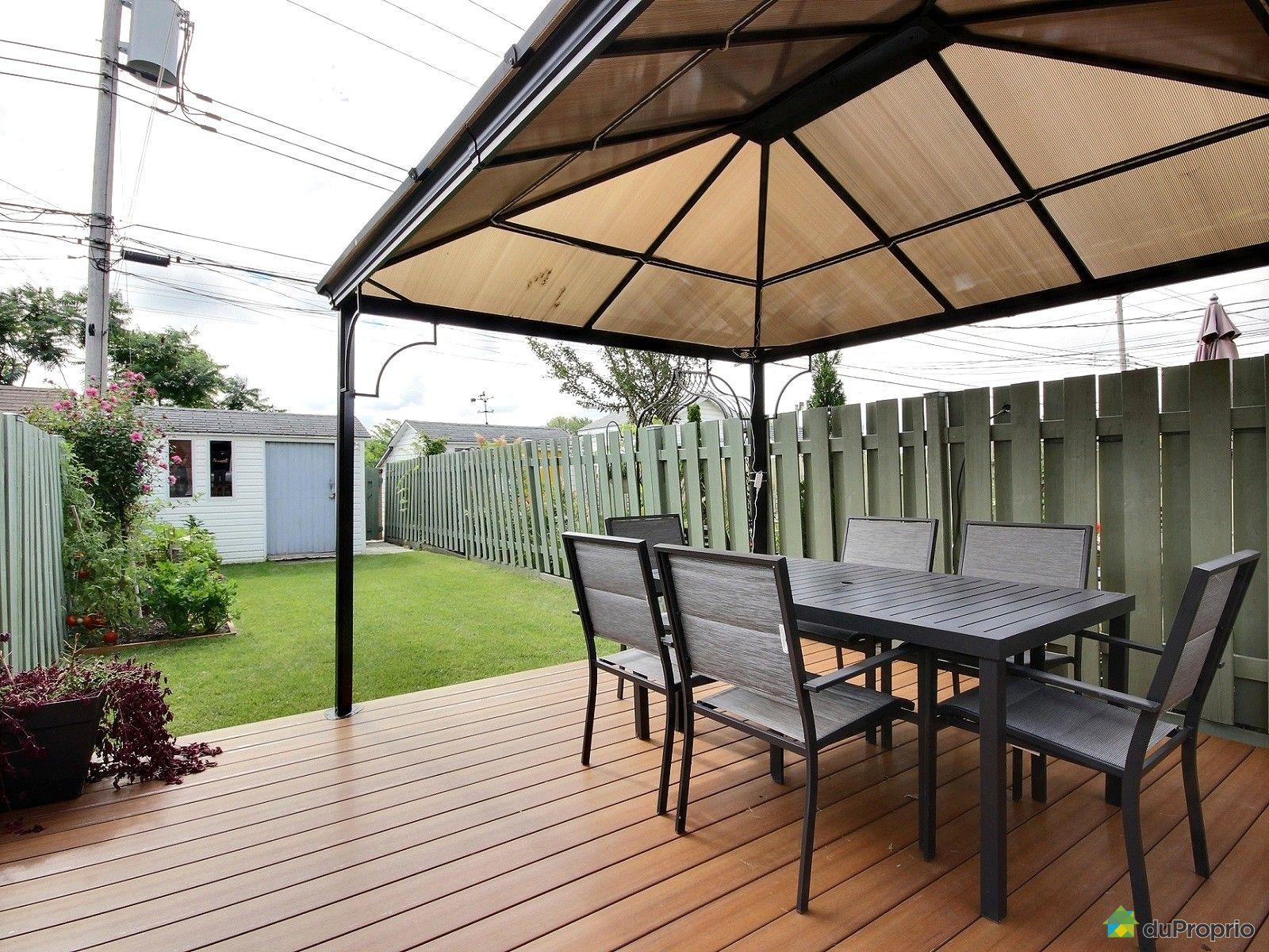 Maison vendu montr al immobilier qu bec duproprio 639933 for Piscine exterieur montreal