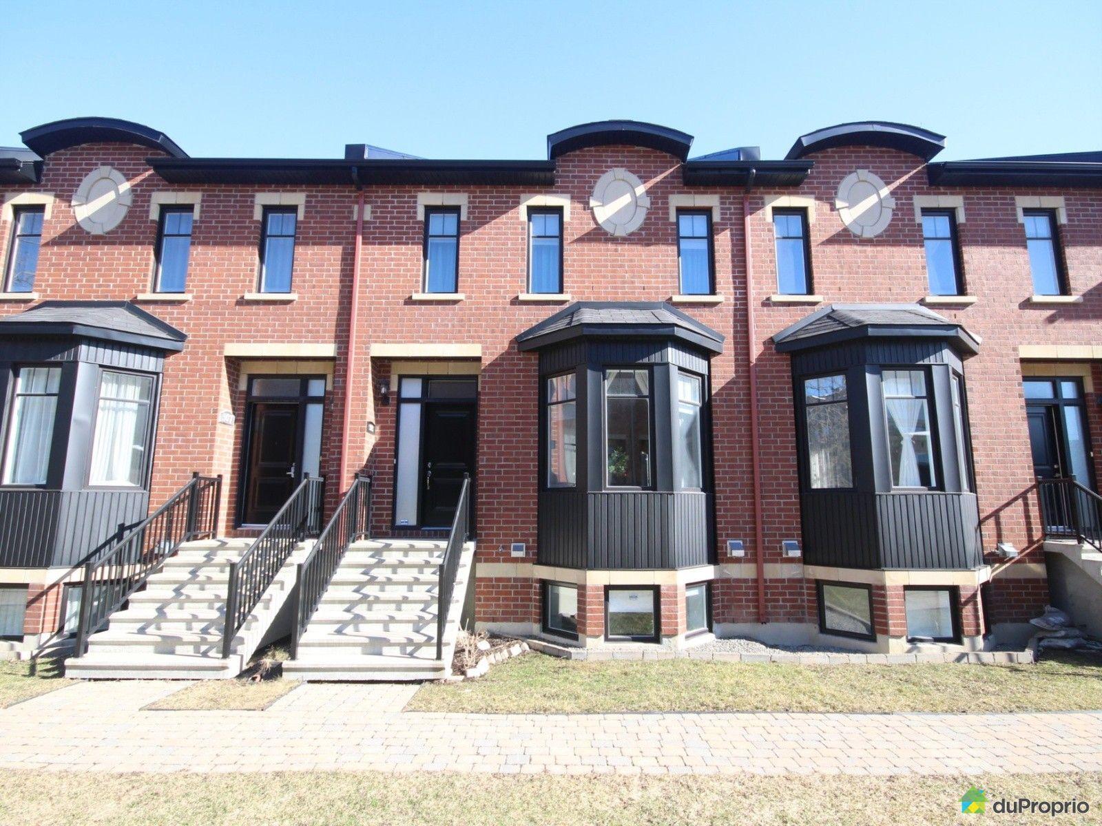 Maison vendre montr al 303 rue khalil gibran immobilier qu bec duproprio 691890 - Piscine st laurent de chamousset ...