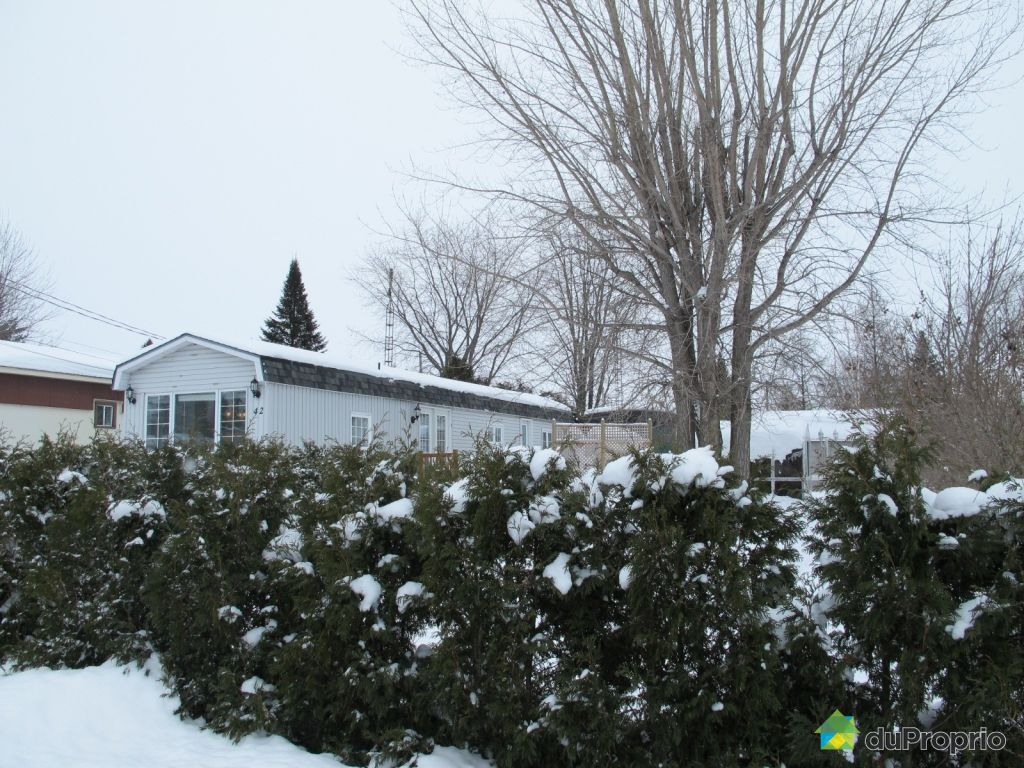 Maison vendre coteau du lac 42 rue leduc immobilier for Cabanon canadian tire