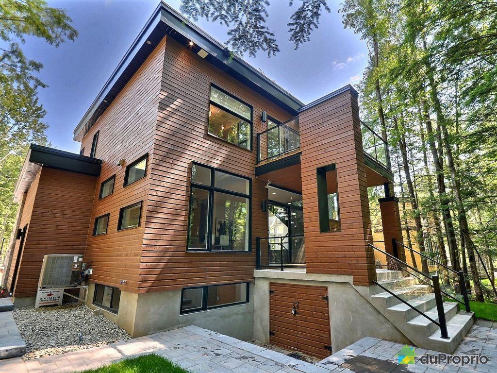 Maisons neuves blainville maison moderne for Exterieur maison neuve