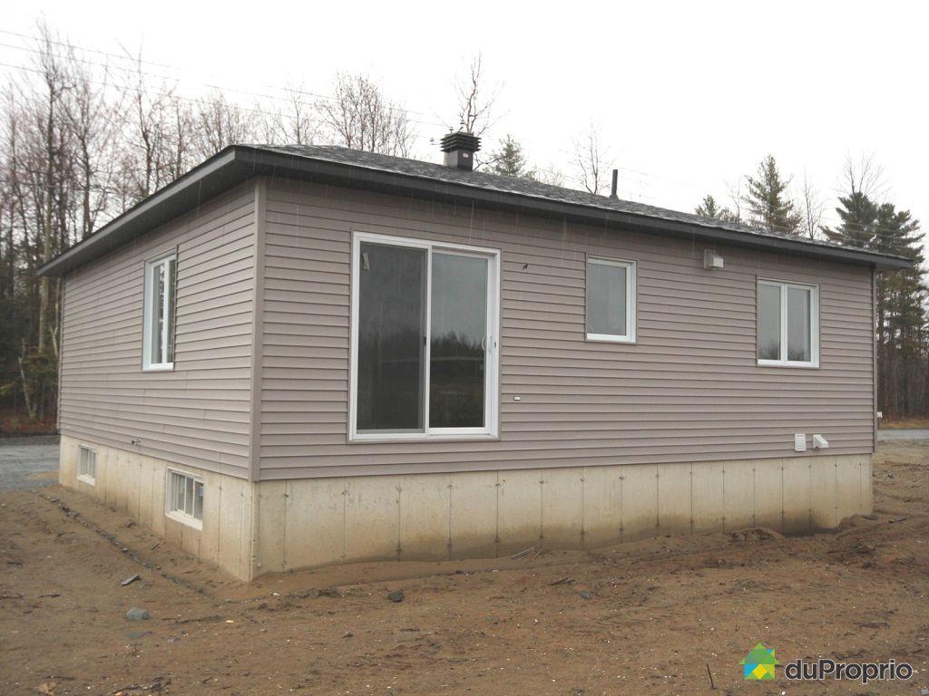 Construction maison neuve drummondville maison moderne for Exterieur maison neuve