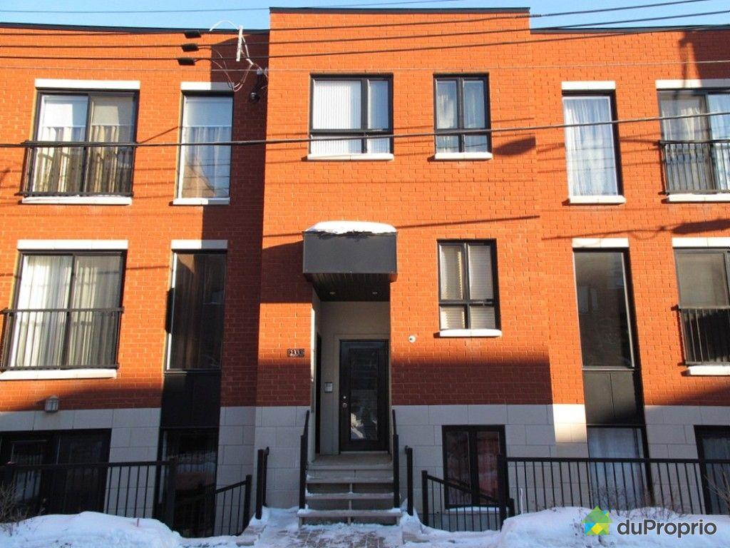 Condo vendre montr al 1 2333 rue aubry immobilier for Annie pelletier piscine