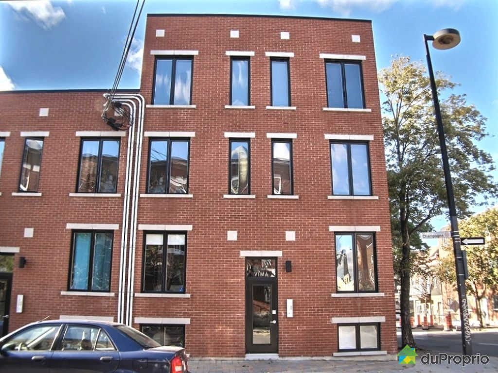 Condo vendu montr al immobilier qu bec duproprio 405683 for Air climatise mural montreal